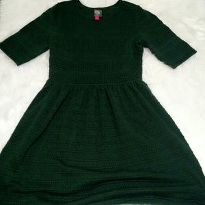 Green Vince Camuto Sweater Dress Large